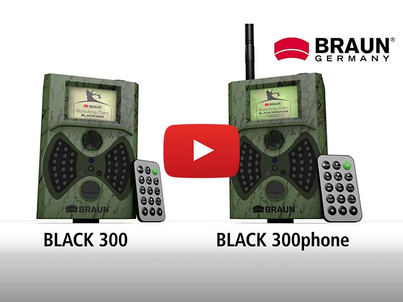 Braun Germany Black 300